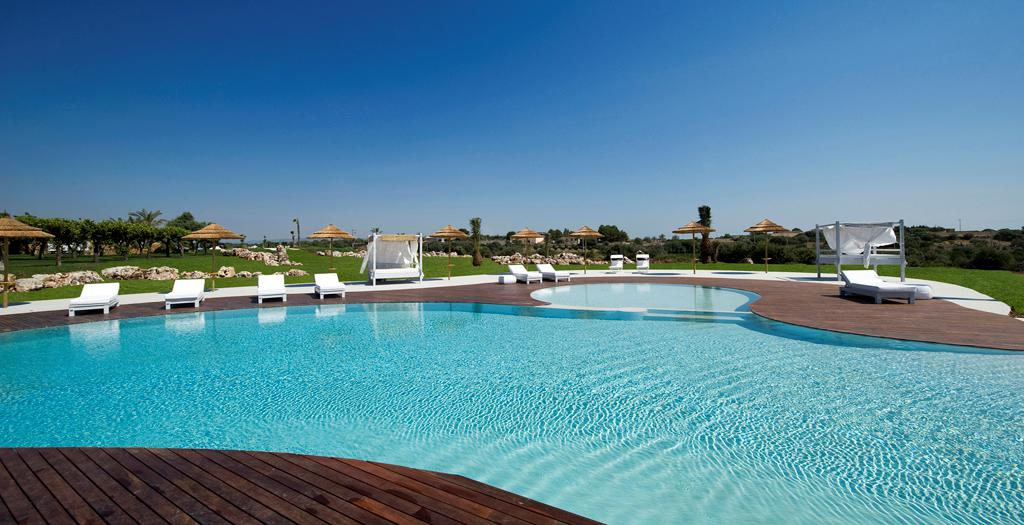 Bijzondere accommodaties Hotel Borgo Pantano in Siracusa (Sicilië, Italië)