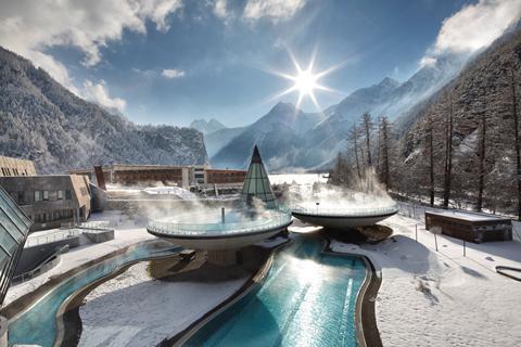 Top wintersport Sölden-Hochsölden ⛷️Hotel Aqua Dome Therme