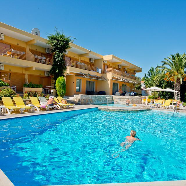 Aparthotel Dionyssos - hotelkamers