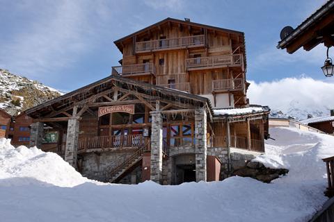 Goedkope wintersport Les Trois Vallées ⛷️Résidence Chalets des Neiges Hermine