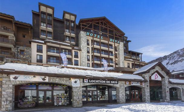 Meer info over Hotel Club Belambra Le Diva  bij Bizztravel wintersport