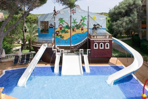 Goedkope vakantie Mallorca 🏝️Aparthotel Zafiro Cala Mesquida (voorheen Viva)
