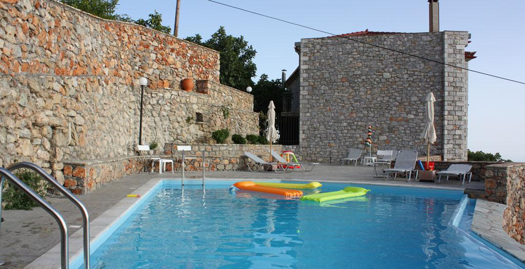 Bijzondere accommodaties Aeropi Houses in Ano Verga (Peloponnesos, Griekenland)
