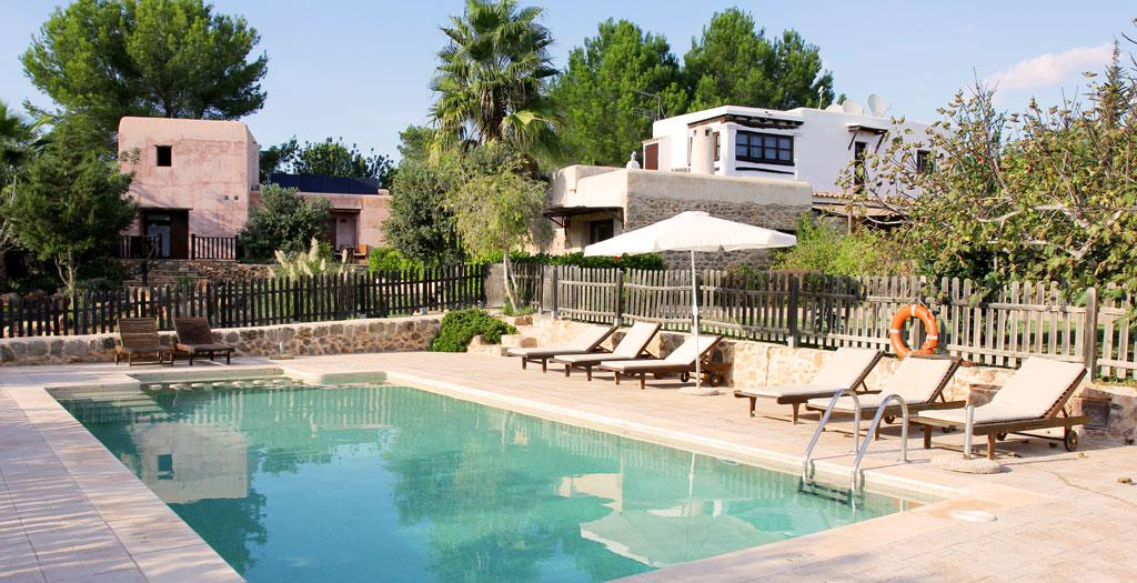 Bijzondere accommodaties Xarc Agroturisme in Santa Eularia (Ibiza, Spanje)