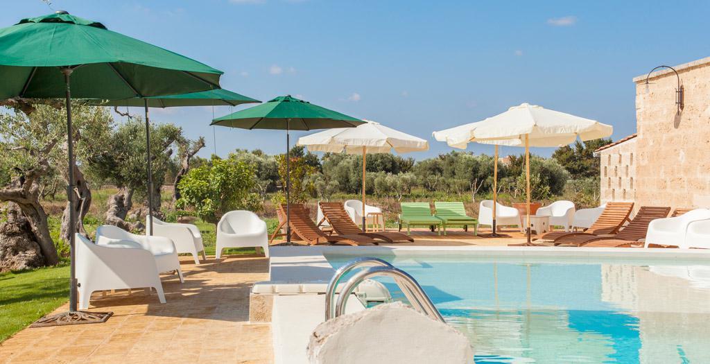 Bijzondere accommodaties Li Calizzi in Novoli (Puglia, Italië)