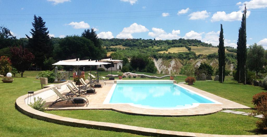 Bijzondere accommodaties I Sicomori in Manciano (Toscane, Italië)