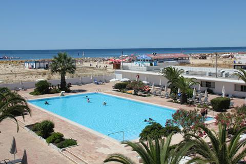 Goedkope zonvakantie Algarve - Hotel Vasco da Gama