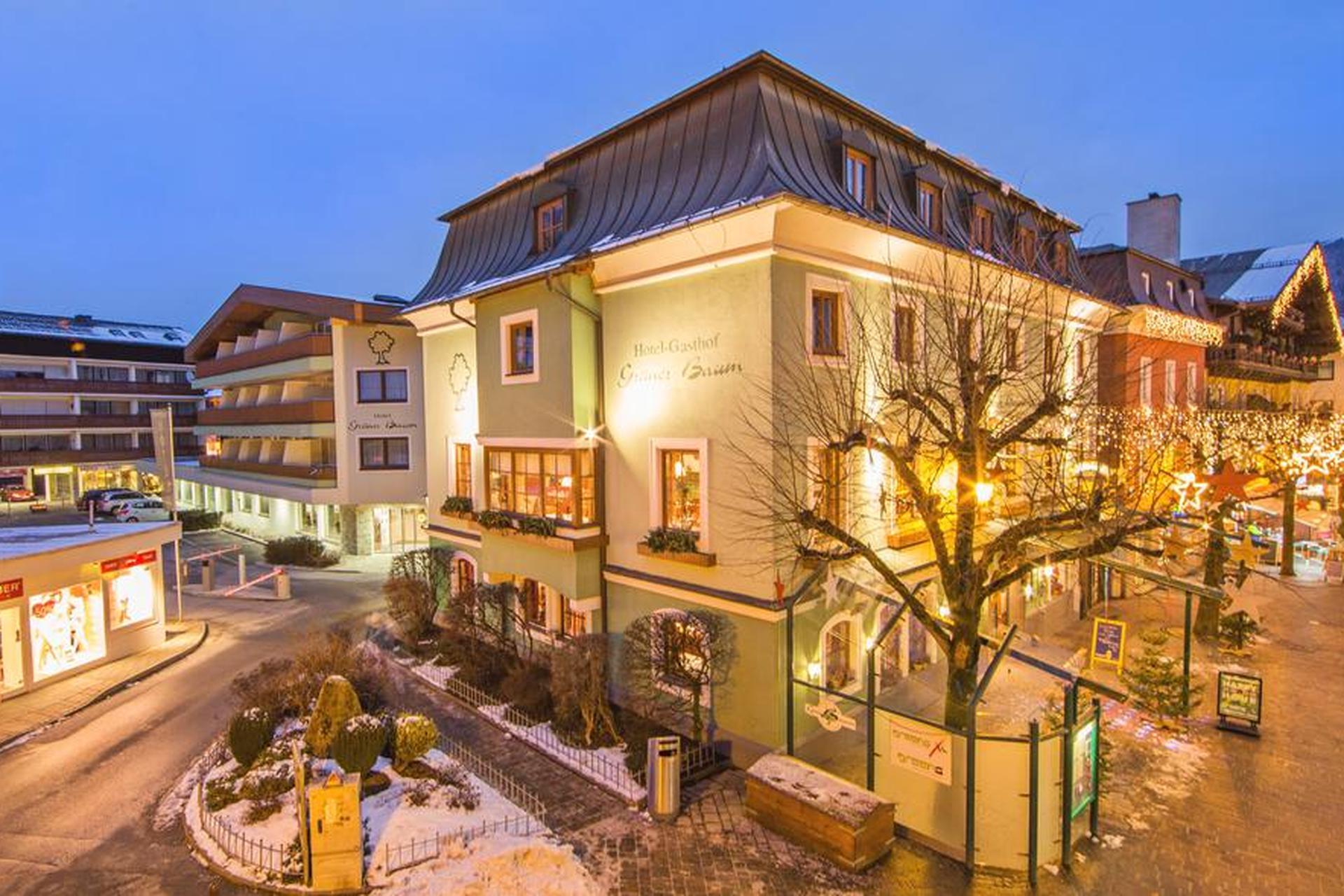Hotel Grüner Baum Zell Am See Kaprun österreich Sunweb