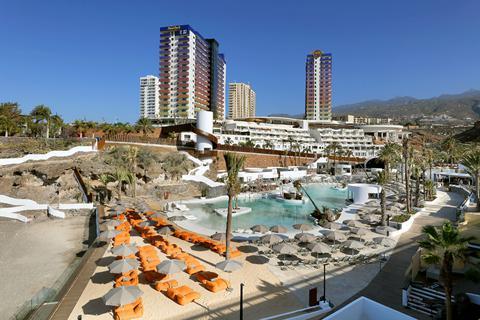 Goedkope zonvakantie Tenerife - Hotel Hard Rock Tenerife - logies en ontbijt
