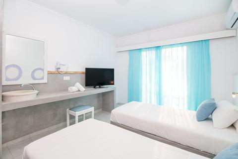 Goedkope zonvakantie Rhodos - Hotel Tina's Plus