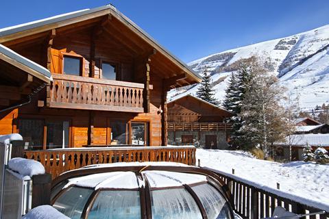 Goedkope skivakantie Les Deux Alpes ⛷️Chalet Le Soleil Levant