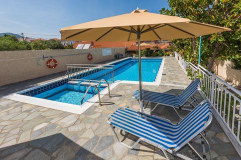 Goedkope zomervakantie Samos - Appartementen Christinangela