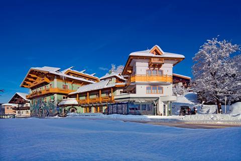 Goedkope wintersport Skicircus Saalbach-Hinterglemm-Leogang-Fieberbrunn ⛷️Hotel Obermair