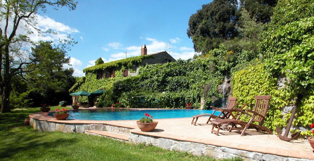 Bijzondere accommodaties La Riserva Montebello in Bolsena (Lazio, Italië)
