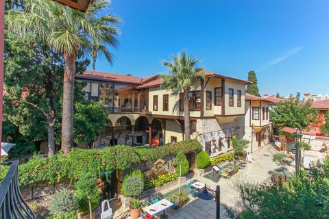 Goedkope zonvakantie Turkse Rivièra - Hotel Alp Pasa