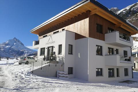 Goedkope wintersport Silvretta Arena ⛷️Chalet Gonda