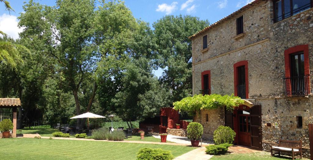 Bijzondere accommodaties Masia la Palma in Espinavessa (Catalonië, Spanje)