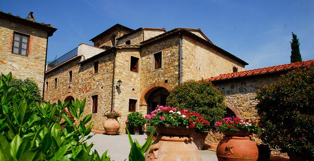 Bijzondere accommodaties Tenuta Lupinari in Bucine (Toscane, Italië)