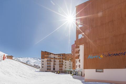 Goedkope wintersport Les Trois Vallées ⛷️Résidence Aconit