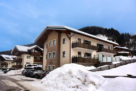 Goedkope skivakantie Ski Amadé ⛷️Appartementen Bergfink