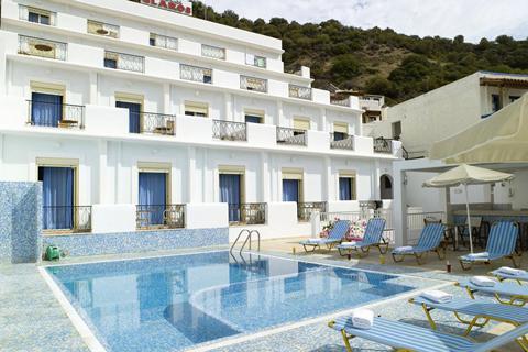 Goedkope zonvakantie Kreta - Hotel Glaros