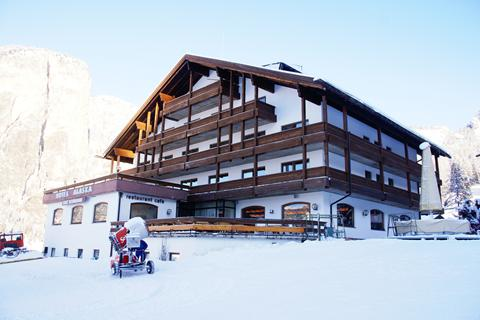 Goedkope wintersport Dolomiti Superski ⛷️Hotel Alaska