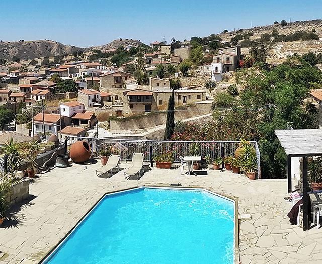 Cyprus Village Houses Tochni