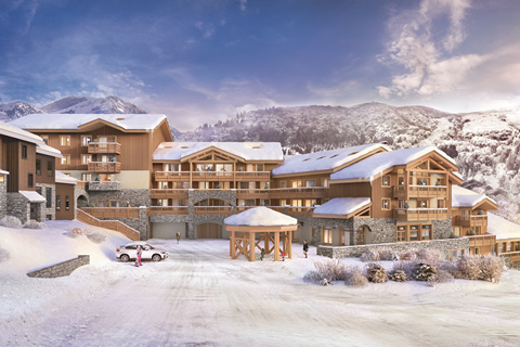Goedkope skivakantie Le Grand Domaine ⛷️Résidence MGM Anitea