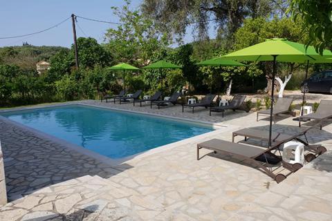 Goedkope zonvakantie Epirus (Parga) - Studio's Villa Apollo