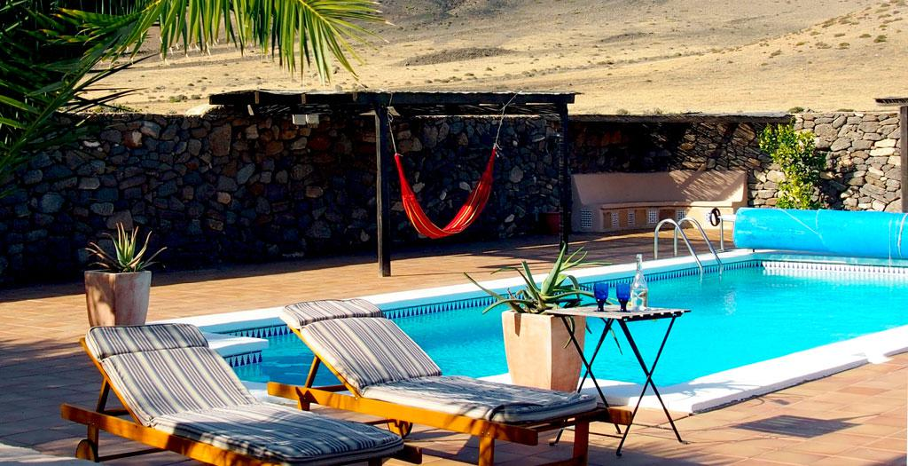 Bijzondere accommodaties Casa La Caldera in Femes (Lanzarote, Spanje)
