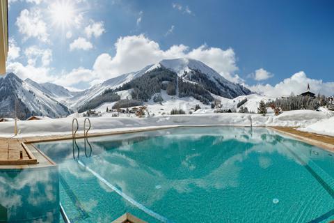 Geweldige wintersport Zugspitz Arena ⛷️Hotel Singer Relais & Chateaux