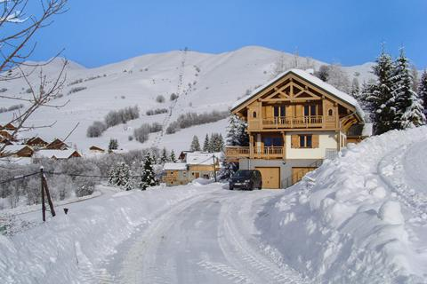 Fantastische skivakantie Les Sybelles ⛷️Chalet Sous le Collet