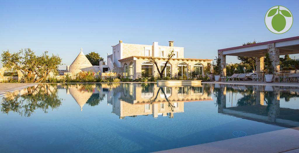 Bijzondere accommodaties Leonardo Trulli Resort in Locorotondo (Apulië, Italië)