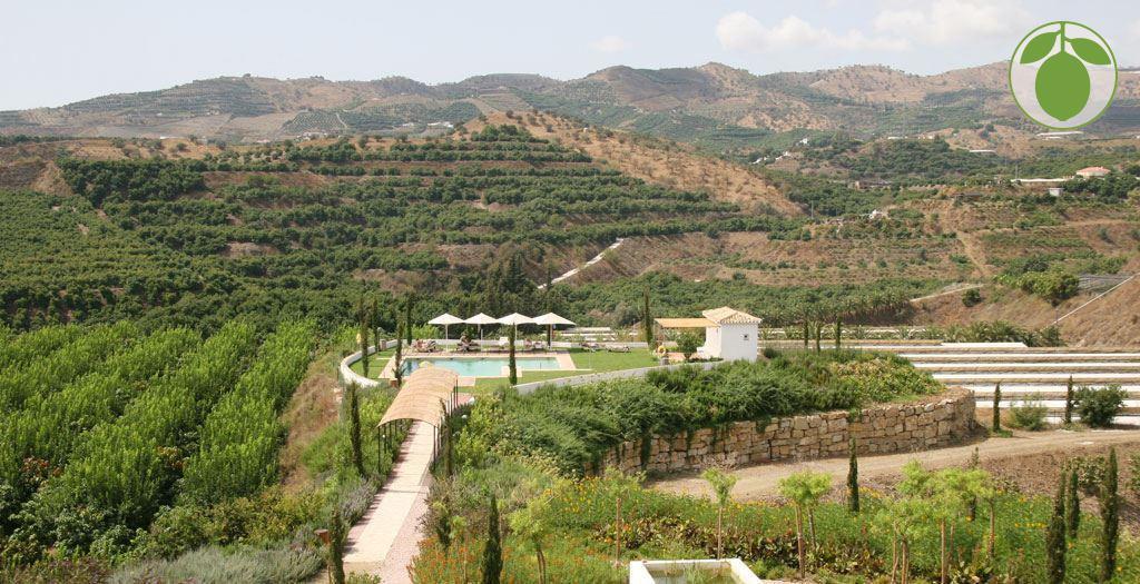 Bijzondere accommodaties Hotel Cortijo Bravo in Velez Malaga (Andalusië, Spanje)