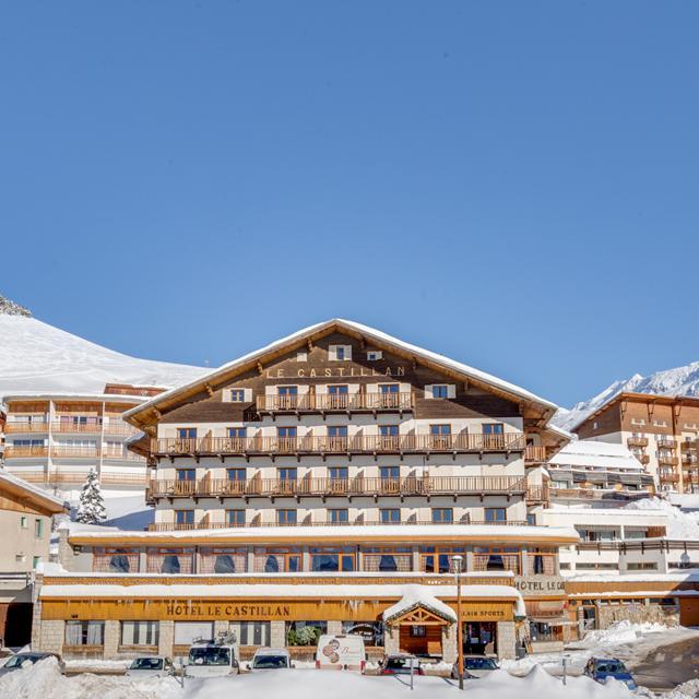Hotel Le Castillan - Halfpension