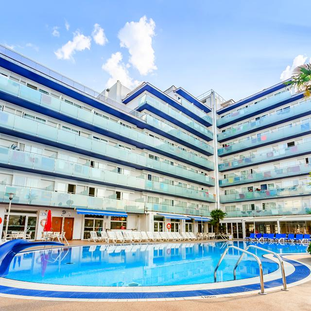 Hotel Mar Blau - logies & ontbijt