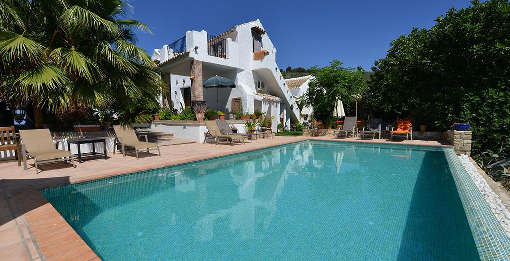 Bijzondere accommodaties Cortijo La Haza in Iznajar (Andalusië, Spanje)