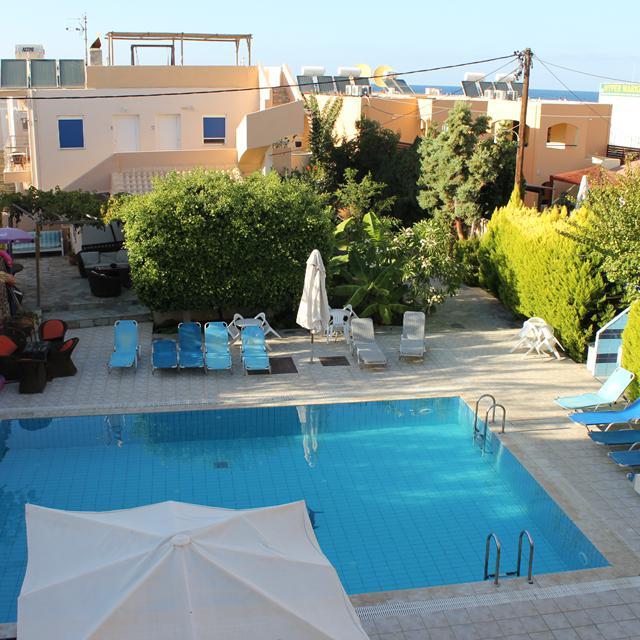 Appartementen Chrissanthi Sea