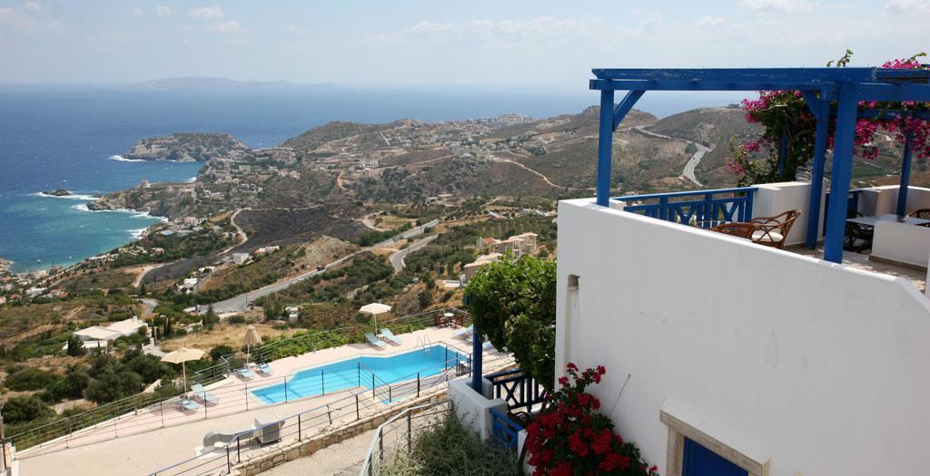 Bijzondere accommodaties Appartement Nymphes in Agia Pelagia (Kreta, Griekenland)