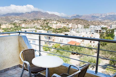 Goedkope zonvakantie Karpathos - Hotel Panorama