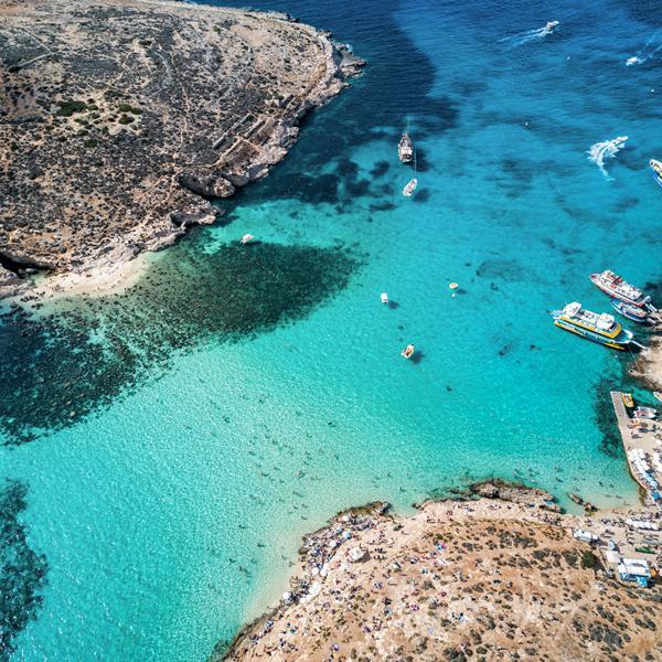 Island hoppen Malta Gozo Comino