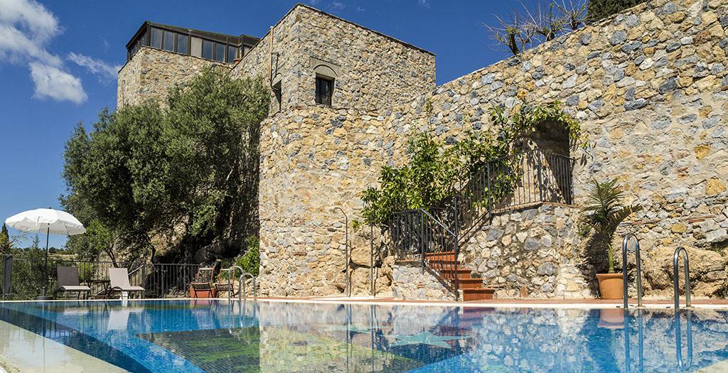Bijzondere accommodaties Castillo de Monda in Monda (Andalusië, Spanje)