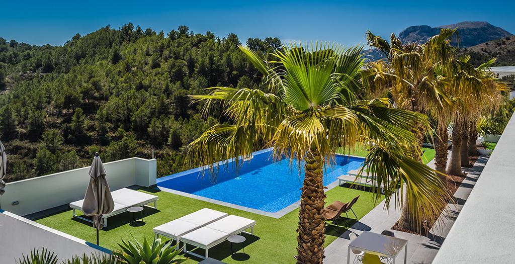Bijzondere accommodaties Casa Leon in Bolulla (Alicante, Spanje)