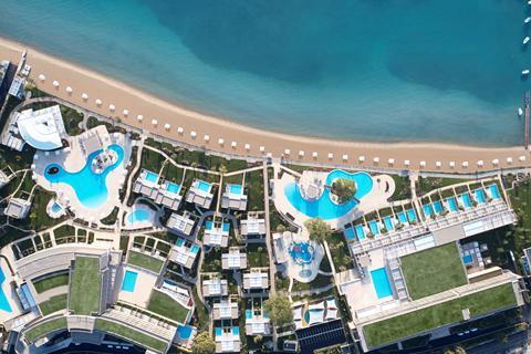 Goedkope zonvakantie Corfu - Hotel Ikos Dassia