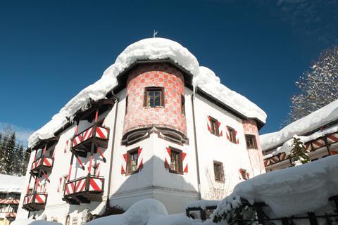 TOP DEAL skivakantie Skicircus Saalbach-Hinterglemm-Leogang-Fieberbrunn ⛷️Schlosshotel Rosenegg