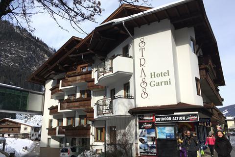 Goedkope wintersport Zillertal ⛷️Hotel Garni Strass
