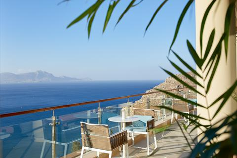 Goedkope zonvakantie Rhodos - Hotel Lindos Blu - adults only