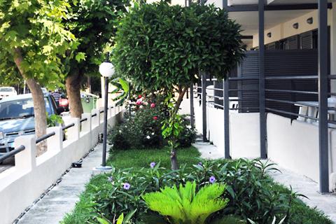 Goedkope zonvakantie Kos - Appartementen Santa Marina