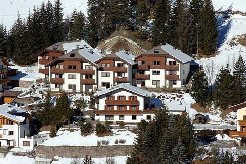 Korting skivakantie Dolomiti Superski ⛷️Residence Boè