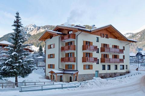 TIP skivakantie Dolomiti Superski ⛷️Hotel Sella Ronda & Dependence Serenella
